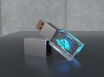 3D Kristall USB Sticks - thumbnail - 1
