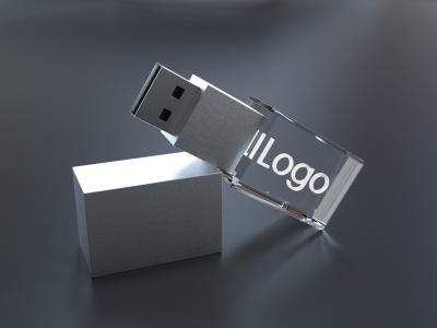 3D Kristall USB Sticks