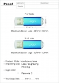 USB Stick Klasik 104 - thumbnail - 3